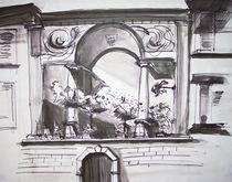 Balkon in Tirano by Heike Jäschke