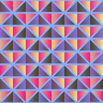 Purple triangles von Gaspar Avila