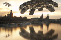 UFOs über Dresden by dresdner
