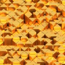 Dreiecke golden von dresdner