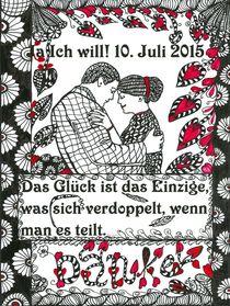 Hochzeit Ja, ich will by Asri  Ballandat - Knobbe