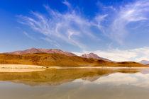 Lagune Bolivien von Arne Tiedemann