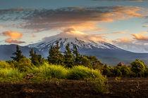 Vulkan Villarica von Arne Tiedemann