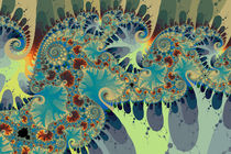 Mandelbrots Spirals and Blobs No. 2 by Mark Eggleston