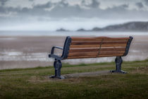 Mumbles memorial bench by Leighton Collins