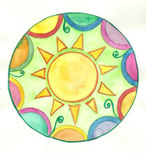 Sun Mandala by fairychamber