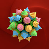 Cupcake Star I by dresdner