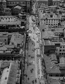 Bologna city centre aereial view von Federico C.