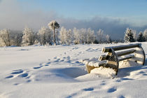 Winter auf dem Kahlen Asten von Heidi Bücker