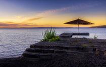 Sonnenuntergang Lago Ranco by Arne Tiedemann