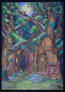 Nachts im Wald by Markus Bauer