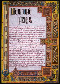 Odin und Frigga von Markus Bauer