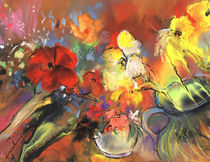Flowers Of Joy von Miki de Goodaboom