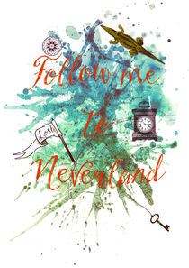 Follow me to Neverland von Sybille Sterk