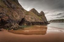 Three Cliffs Gower von Leighton Collins
