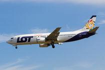 Lot Boeing 737 von David Pyatt