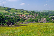 Hayfield, Derbyshire from Snake Path von Rod Johnson