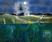 Meerjungfrauen von Heidi Schmitt-Lermann