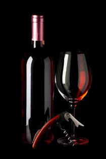 Ein gutes Glas Wein - A delicious glass of wine von Thomas Klee
