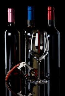 Wein genießen - Enjoy wine von Thomas Klee
