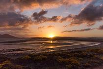 Sonnenuntergang an der schottischen Küste von Andre Hauschild
