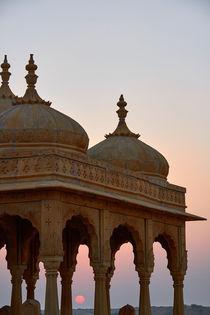 Sunset around Jaisalmer by Michael Lindegger