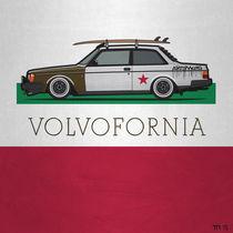 Volvofornia Slammed Volvo 242 240 Turbo California Style by monkeycrisisonmars