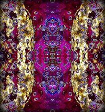 Purple water carpet by Nataliya Kiryukhina