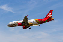 Air Malta Airbus A320 von David Pyatt
