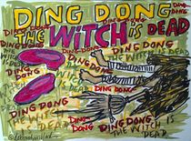 Ding Dong the Witch is Dead von Deborah Willard