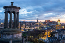Edinburgh from Calton Hill by Martin Williams