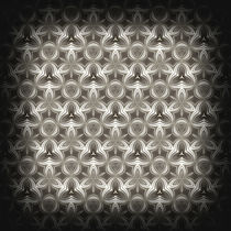 Abstract Grey Metallic Pattern von cinema4design