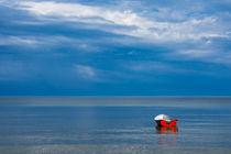 Fischerboot in der Ostsee von Rico Ködder