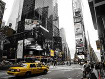 Times Square von Gisela Kretzschmar
