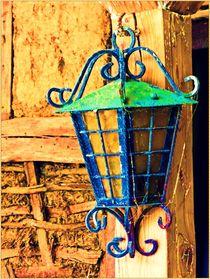 ~ Black old lamp ~ von Sandra  Vollmann