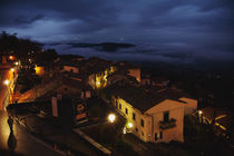 Cortona at Night by Arianna Biasini