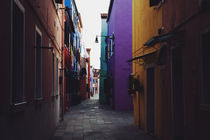 Burano Alleyway by Arianna Biasini
