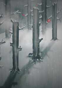The Woods in Winter von Sybille Sterk