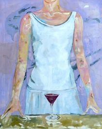 Glass Of Red von Martina Unterwelz