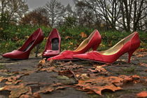 rote Highheels by Gisela Peter