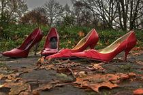 rote Highheels von Gisela Peter