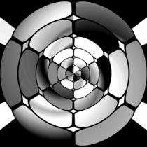 Chromed black and white von Gaspar Avila