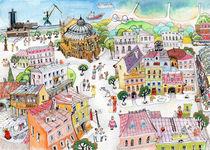 Odessa summer. von Tatiana Popovichenko