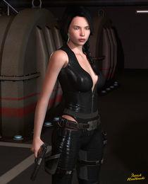 Waffengirl by Patrick Wandkowski
