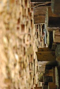 Holzstapel... 2 von loewenherz-artwork