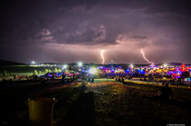 Thunderstorm over Antaris Project Festival 2015 von Philip Rebensburg