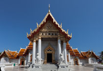 Buddhist temple Bangkok von Leighton Collins