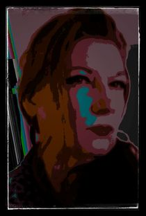F. digital Art by AndreA Nr. 11 by Andrea Roling