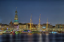 Hamburg Skyline von Sebastian Jaedtke