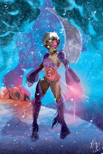 Commander Meeka - Lost in Space, Ice Planet von Kita  Parnell